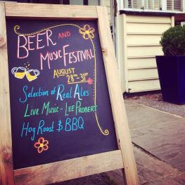 Beer Festival at The Cricketers Arms Chelmsford