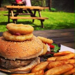 Burgers at The Cricketers Arms Chelmsford