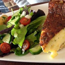 The Cricketers Arms Chelmsford Famous Quiche!